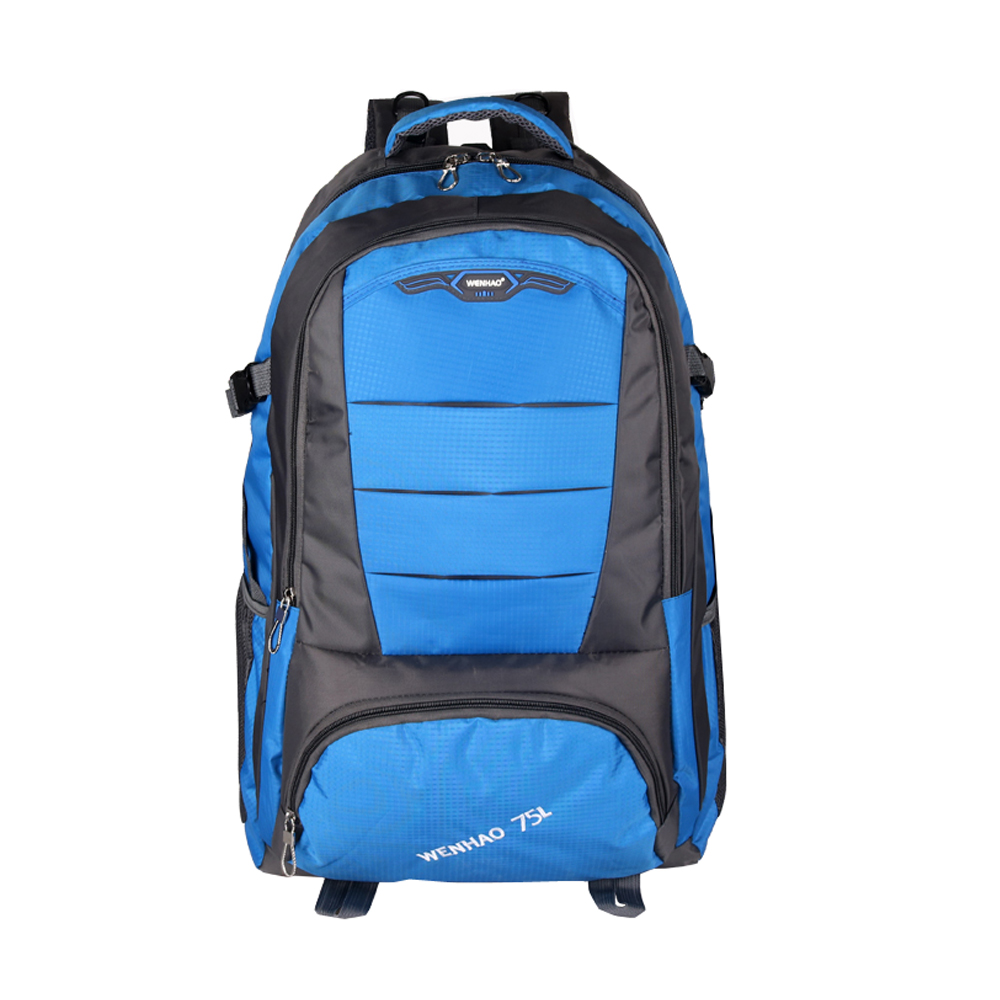 Custom 2017 latest 100 liter waterproof backpack for hiking sport backpack outdoor hiking made in China factory