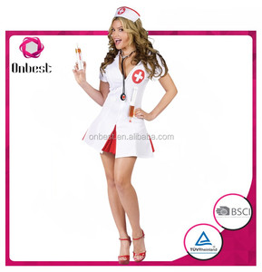 Halloween costume japanese sexy hot nurse cosplay dress wholesales carnival costume