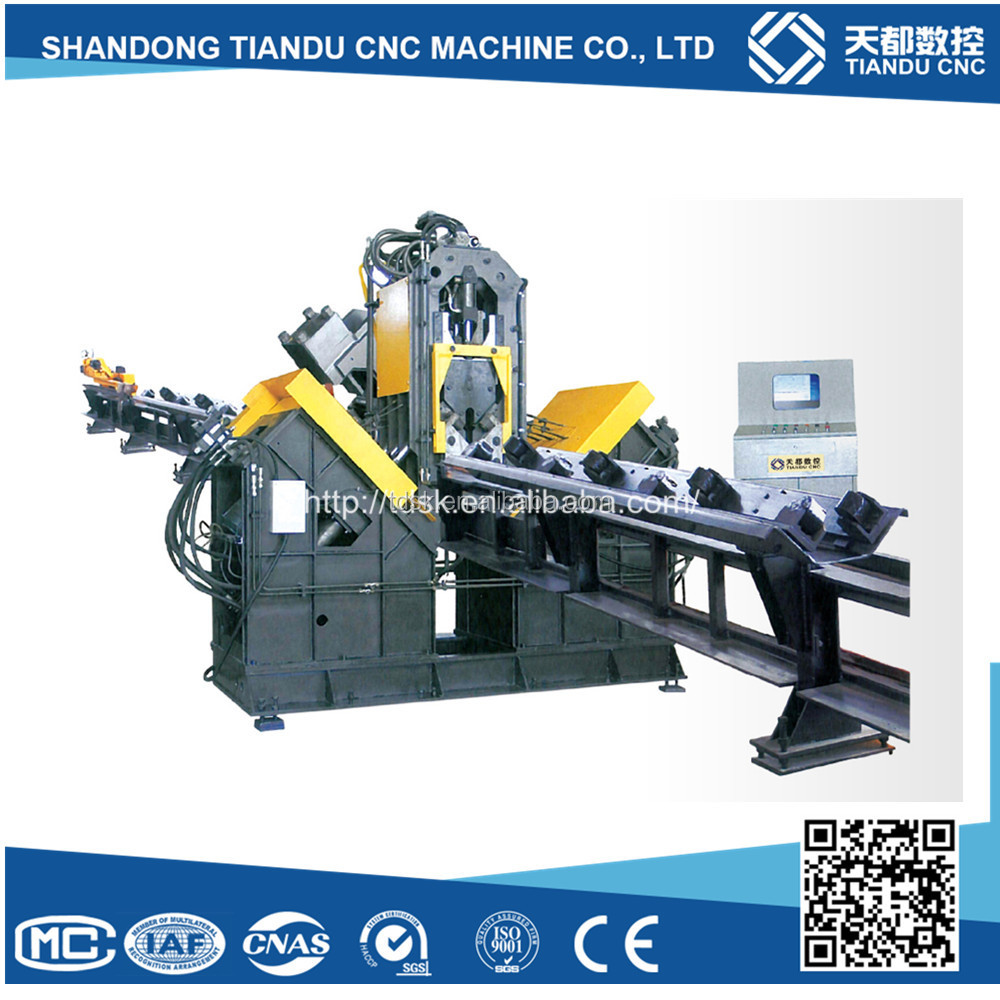 CNC Automatic High Speed Drilling and Marking Line for Angles