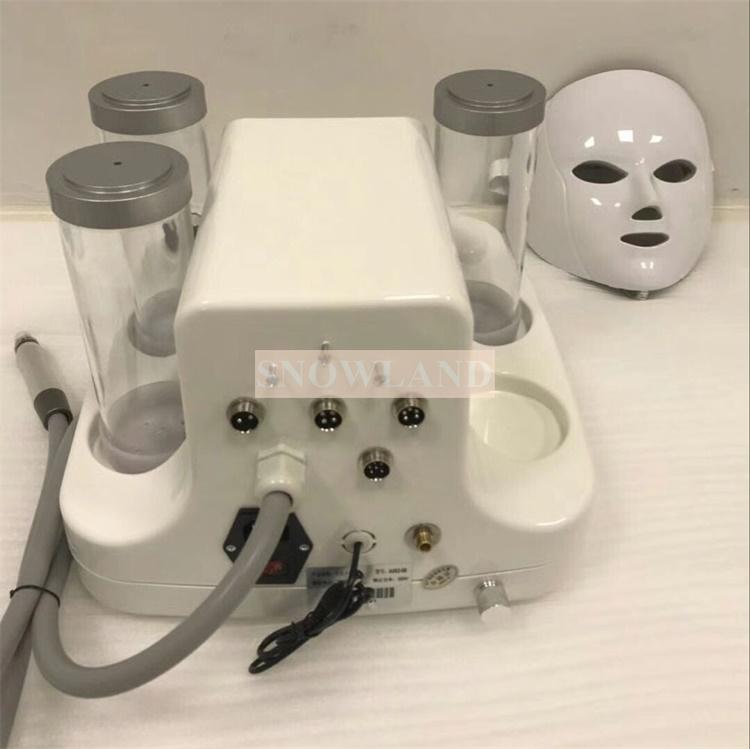 7で1ハイドラ皮膚剥離ダイヤモンド剥離と水ジェット美容アクアピール皮膚剥離フェイシャル皮をむき機でledマスク
