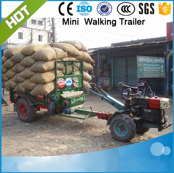 7C-2H  151 Walking tractor trailer