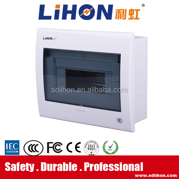 full copper terminal fire-retardant electrical distribution box of mccb metal box