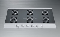 New design! Home appliance 6 burners Stainless steel gas burner cooking range/kitchen appliance gas hob
