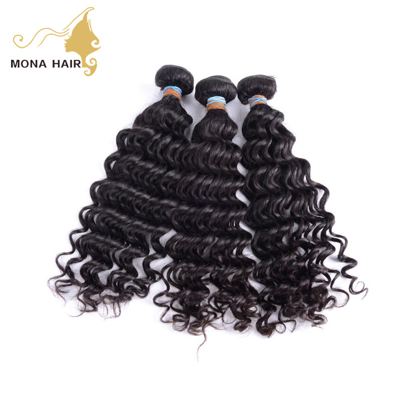 Accept trade assurance order high quality mona hair filipino virgin hair wholesale
