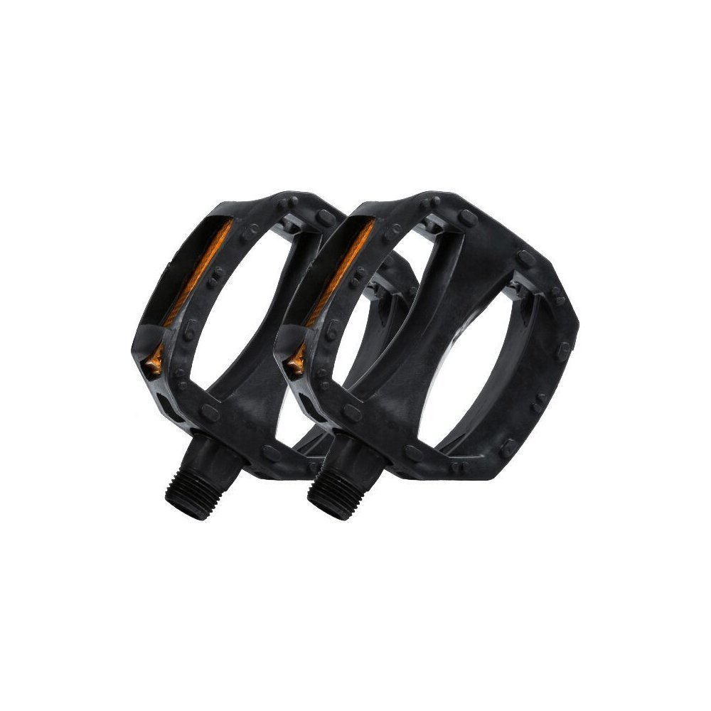 RealWheels RW235-1-Pete Diamond Billet Pedals Set of 3