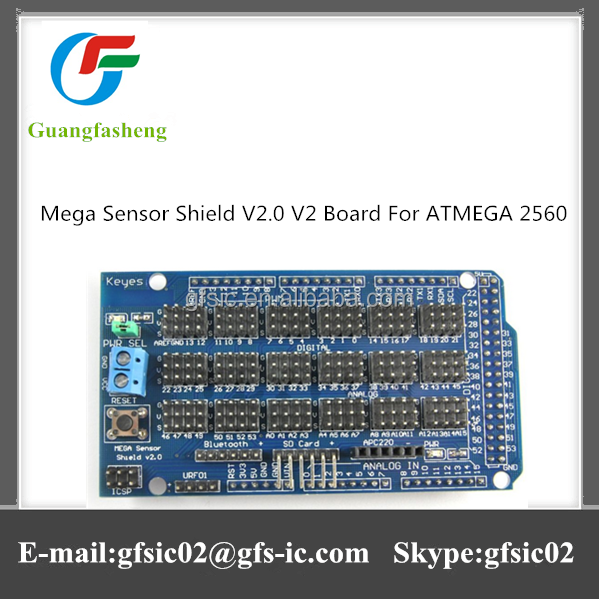 Hot sale Mega Sensor Shield V2.0 V2 Board For ATMEGA 2560