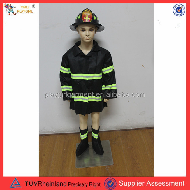 PGCC0097 2015 Best selling costume children costume fireman costume