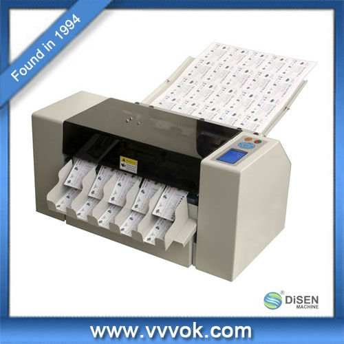 Automatic Business Card Cutter Price Cutting Machine Plastic Product On