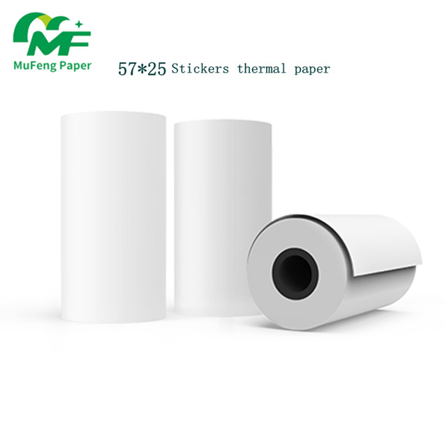 57mm*50mm Thermal Paper for Thermal Printer Roll of 10 in 1 pack