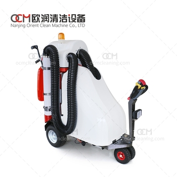 MAMUT  mechanical cleaning equipment sweeper outdoor vacuum sweeper battery powered vacuum cleaner