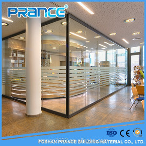 Pure aluminum alloy glass partition wall office partition series need