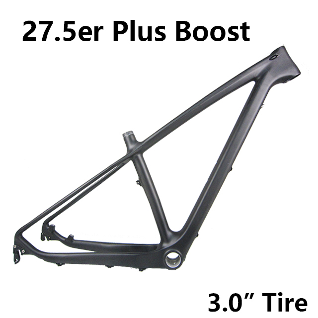 c609f06aad0 Chinese New Carbon 27.5 Plus Boost Hardtail Mountain Bicycle Frameset 27.5+  Carbon Boost Frame 1044g - M07