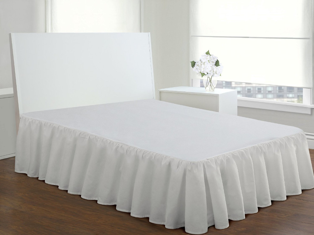 Hotel White Bed Skirt King Size 15 Inch Fall Buy Bed Skirt Hotel White Bed Skirt Hotel Bed