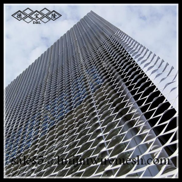 Expanded Metal Panels : Huijin factory expanded metal ceiling panels aluminum