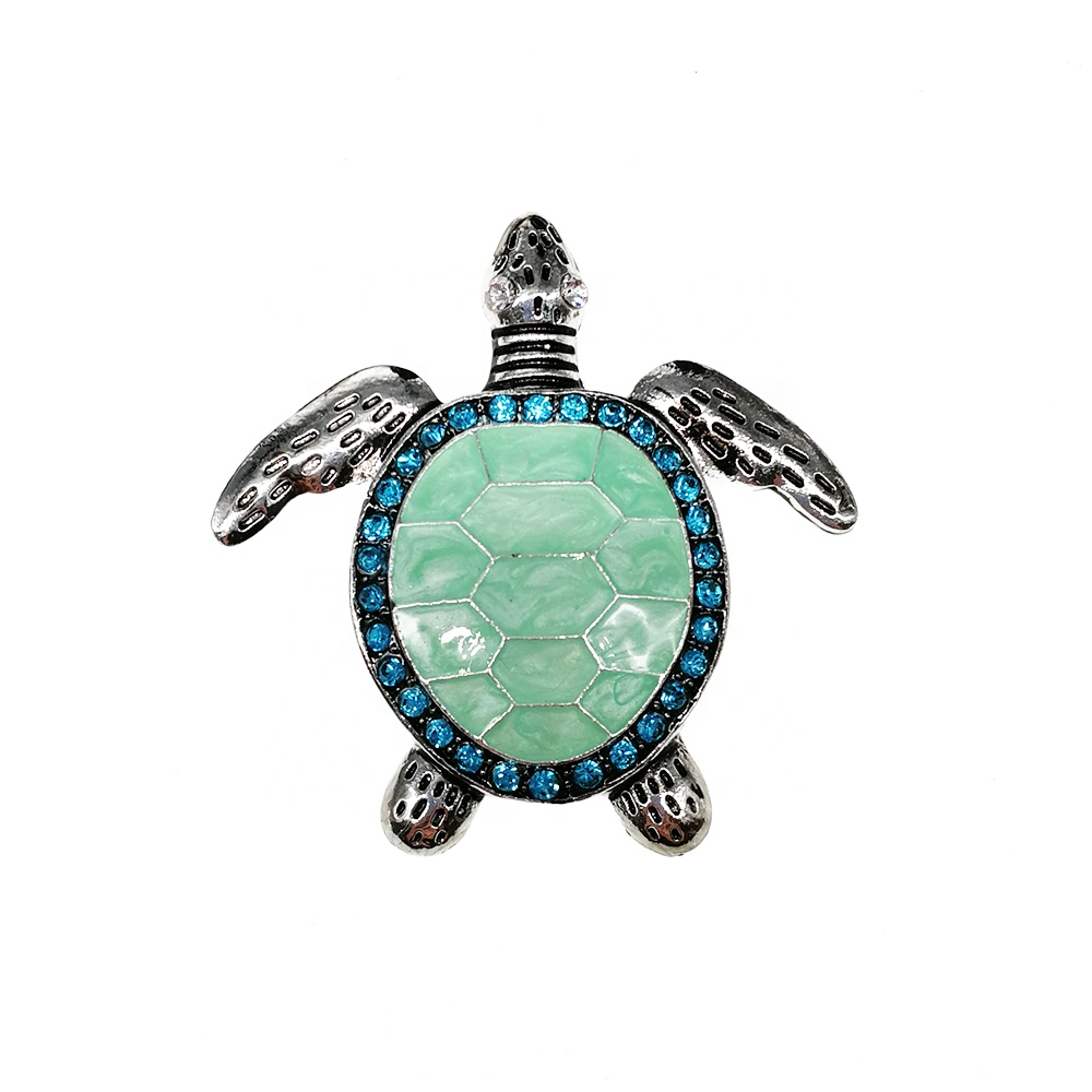 Jotome Custom Made 펜 던 트 보석 Cute Enamel Sea Turtle 동물 펜 던 트 Charms
