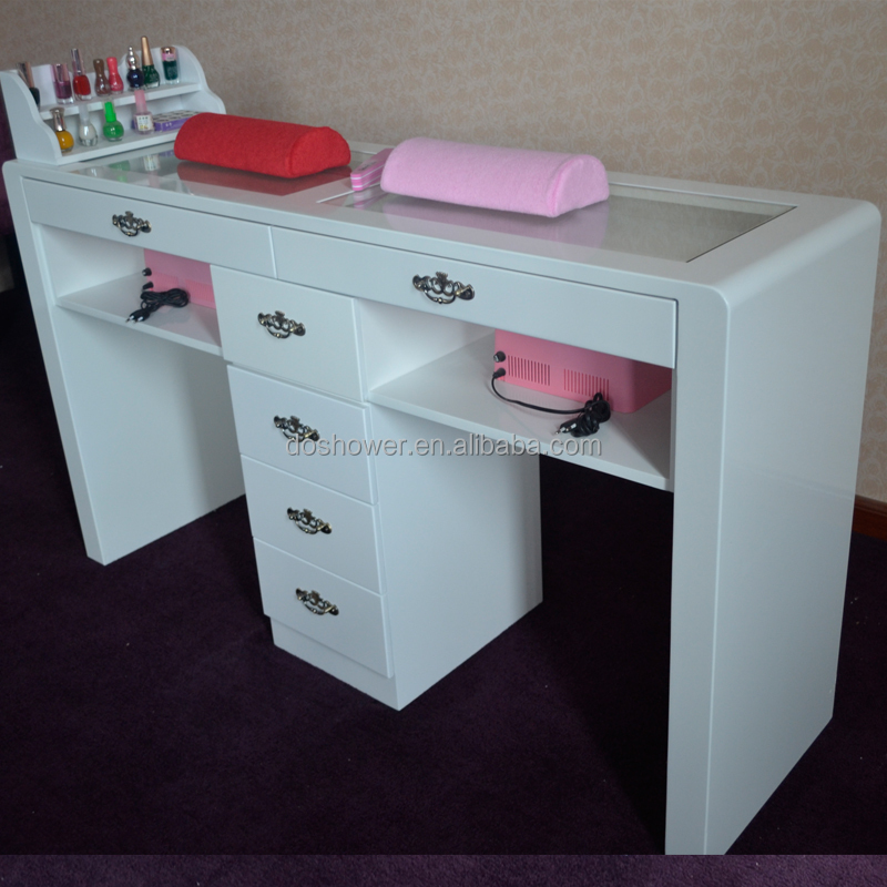 Nail Art Table For Nail Care Beauty Shop Nail Station Manicure Table ...