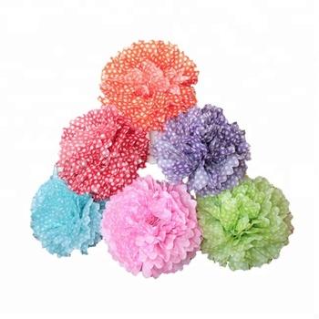 Colorful Wedding Table Centerpiece Tissue Paper Crafts Flower Pom Poms Buy Paper Flower Pom Poms Colorful Paper Flower Pom Poms Wedding Paper Flower