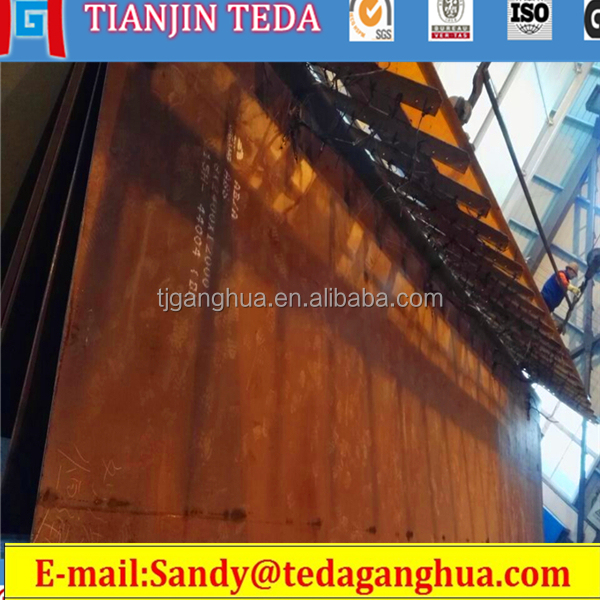 SA131 ZINC Galvanized Surface Treatment GI Structural Ship Steel Plate with ABS