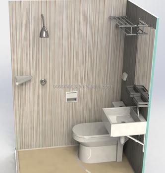Indoor Portable Shower And Toilet Prefabricated Bathroom Pods - Buy ...