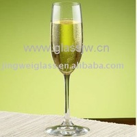 handmade glassware champagne flute for health