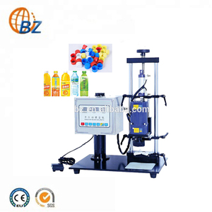 Factory Direct Sale Semi-Automatic Screw, Bottleh Plastic Jar Capping Machine