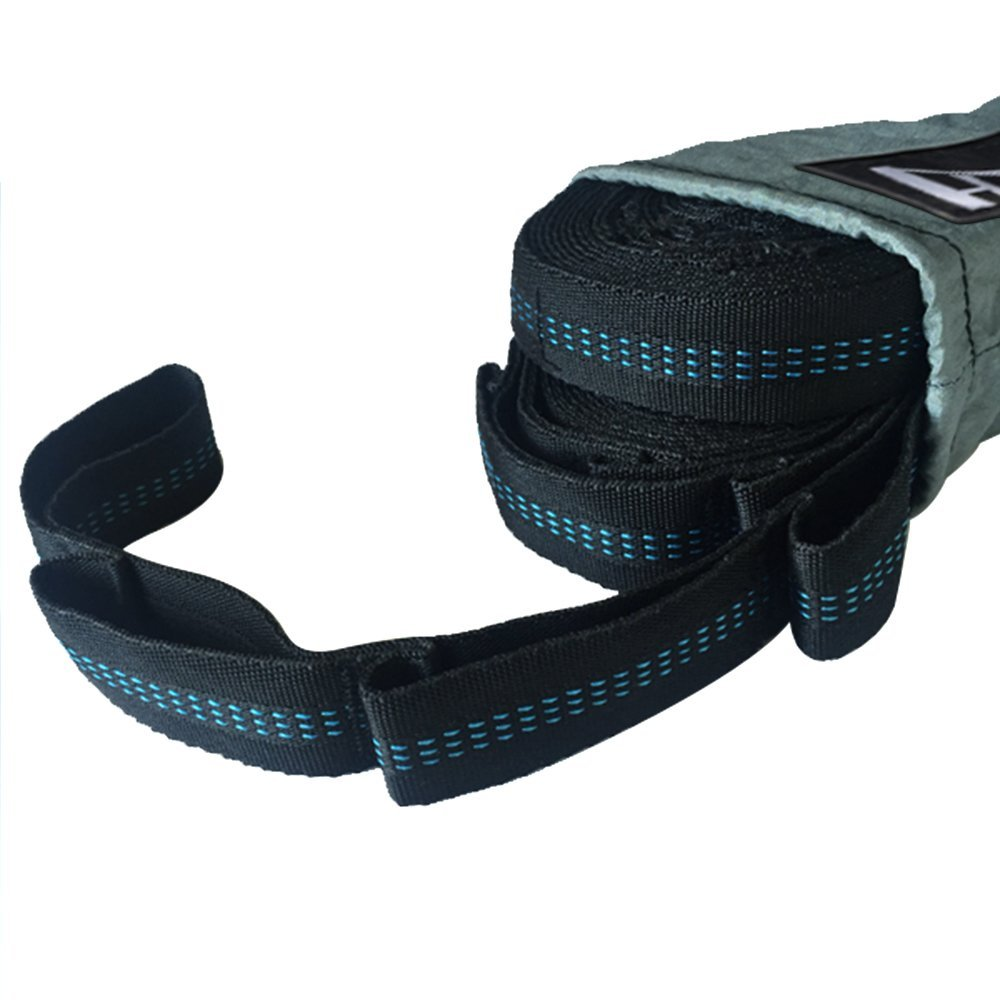 Fun For Life Funlife Outdoor Adjustable Hammock Straps Camping Tree Straps for Polyester Fabric