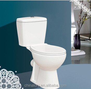 2016 hot sale white elongated two piece comfort height for Bathroom p trap height