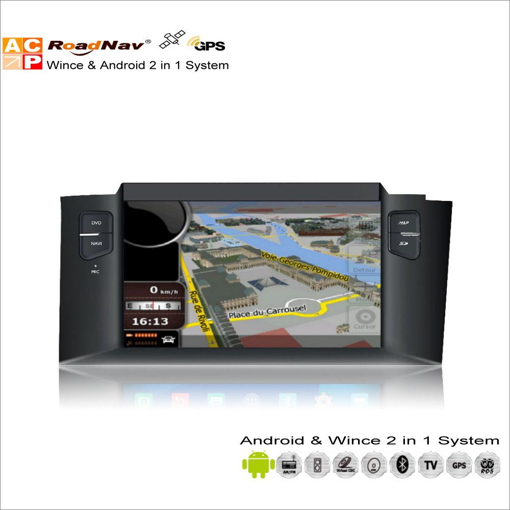 for citroen c4 c4l ds4 2011 2014 car radio cd dvd player gps navigation advanced wince. Black Bedroom Furniture Sets. Home Design Ideas