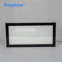 Edgelit- window display poster frame A1 size Led acrylic snap frame light box
