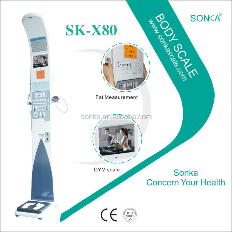 Electric Scaling Machines SK-X80-002 2015 Professional weight/height Test Machine