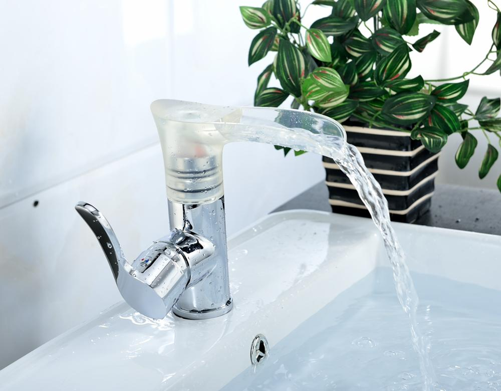 New design European style LED bathroom faucet