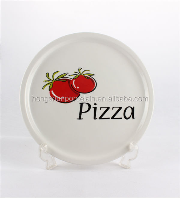 microwave pizza dishes / microwave pizza plate