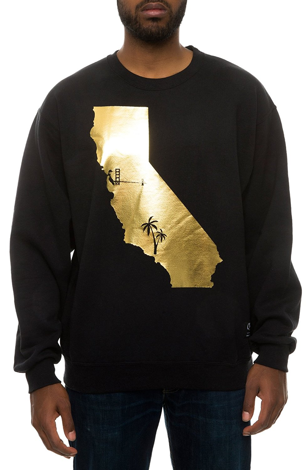 Classy Brand Golden State Bay To L.A. California Sweatshirt