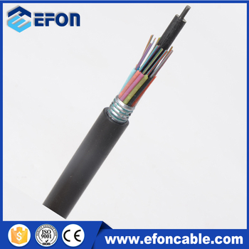 24 Core 48 Core 144 Core Wire Braided Armor Fiber Optic Cable - Buy ...