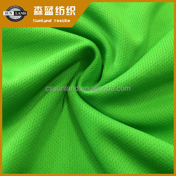 100% polyester micro eyelet clothes fabric for sportswear