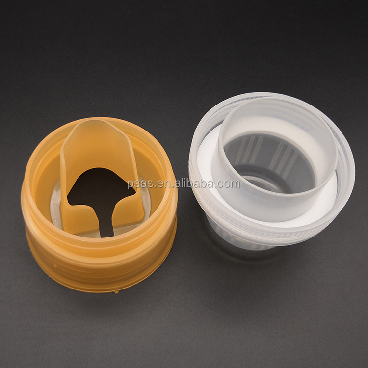 New style 45mm, 56mm laundry detergent lid measuring cap with graduation