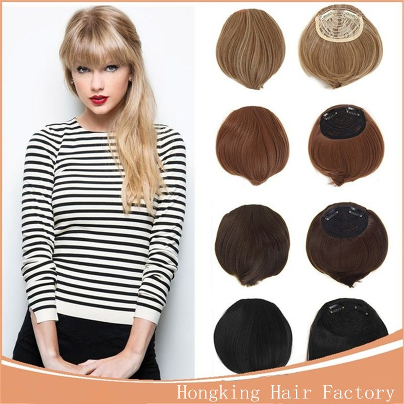 Front Hair Bangs Extension Clip In Bang Hair Fringe Buy Hair Bang