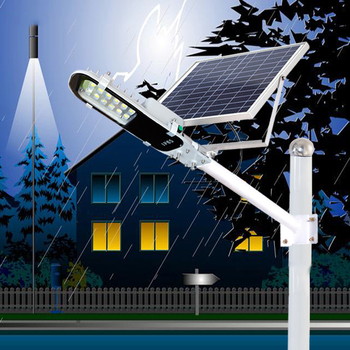 With timer solar floodlight ip65 outdoor 20w 50w 100w led solar flood light