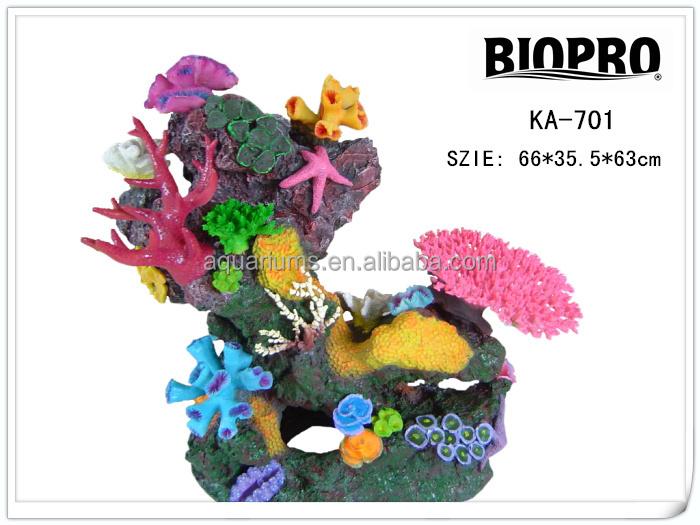 biopro marca proveedor fabricacin acuario adornos de resina artificial hardenite arrecifes cora