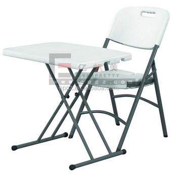 Sedie Plastica Pieghevoli Da Giardino.Studente Tavolo Pieghevole E Una Sedia Scuola Tavolo Da Giardino
