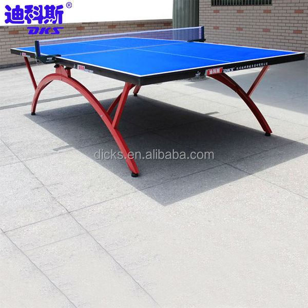 Weather Resistant Table Tennis Board For Official Size