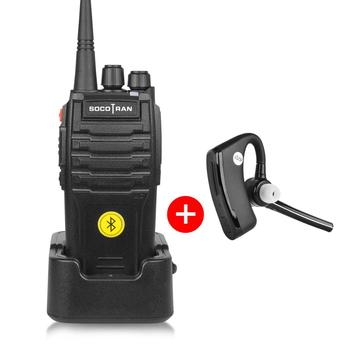 Bluetooth Walkie Talkie 5w Uhf 400-480mhz Built-in Bluetooth Module  Portable Two Way Radio With Wireless Bluetooth Headset 16ch - Buy Bluetooth  Walkie