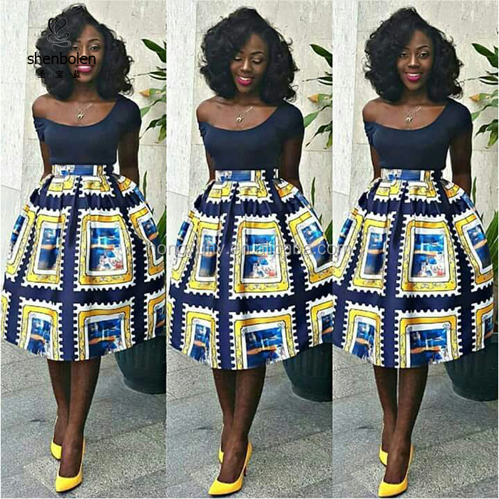 33198a7227 Ch342 Wholesale African Clothing Authentic African Ankara Skirt With  Pockets - Buy Authentic African Dasiki Skirt,African Long Skirt,Modern  African ...