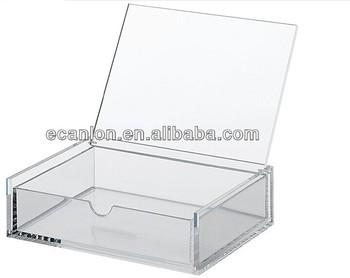 Hot Selling Plexiglass Storage Boxes Display Box