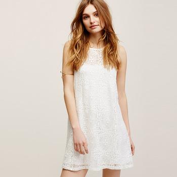 ee7d551d4 Z92122A nuevo estilo de las mujeres vestido blanco transparente corta  fiesta vestido de las mujeres