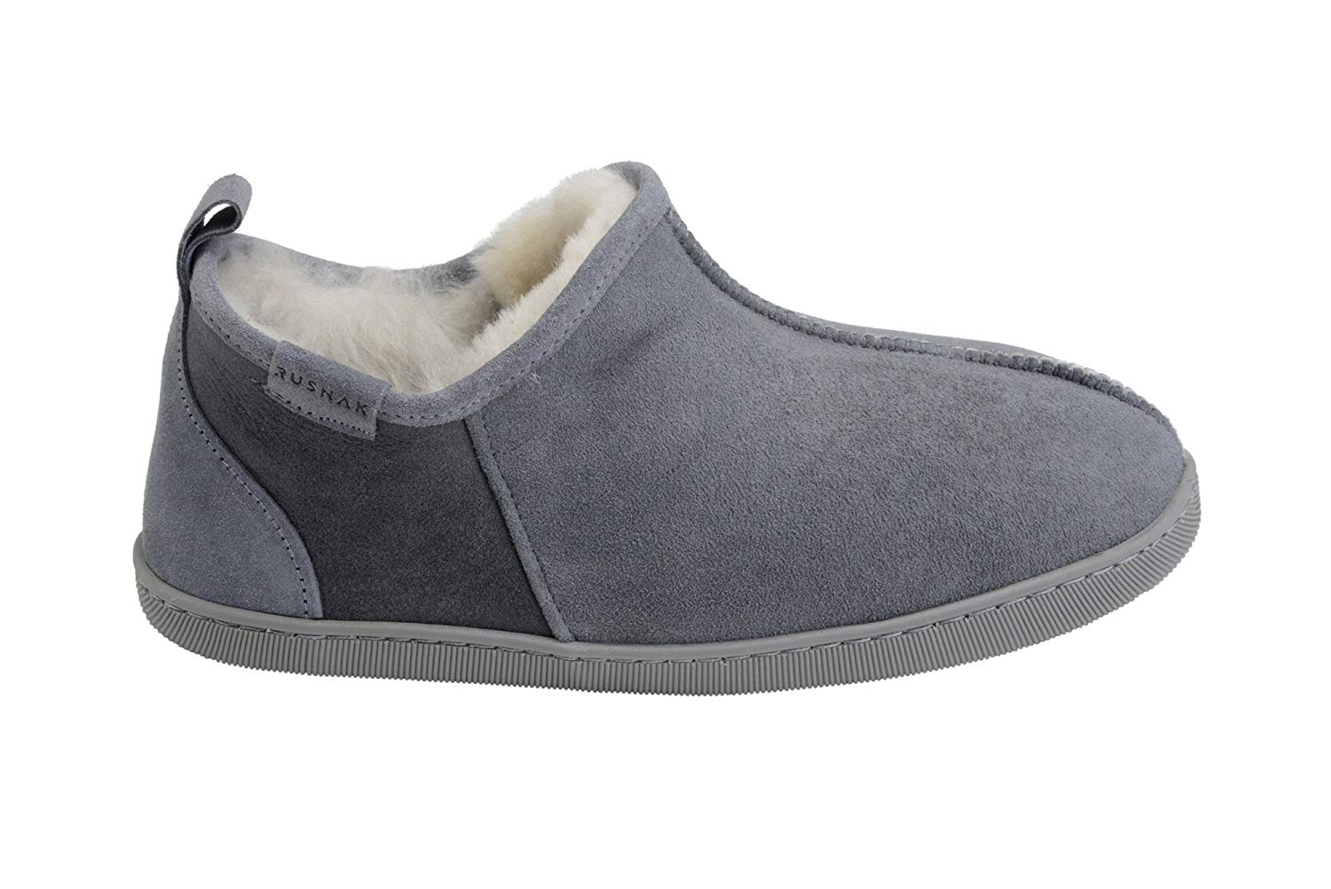1ece599a502 Get Quotations · Mens Luxury Fully Wool Lined Genuine Sheepskin Leather  Ankle Boot Slippers B004