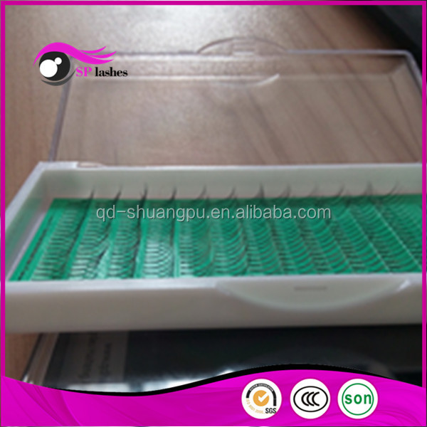 Beauty Mini Tray W Faux Mink Hair Eyelash Extension 3D Synthetic Hair False Eyelash