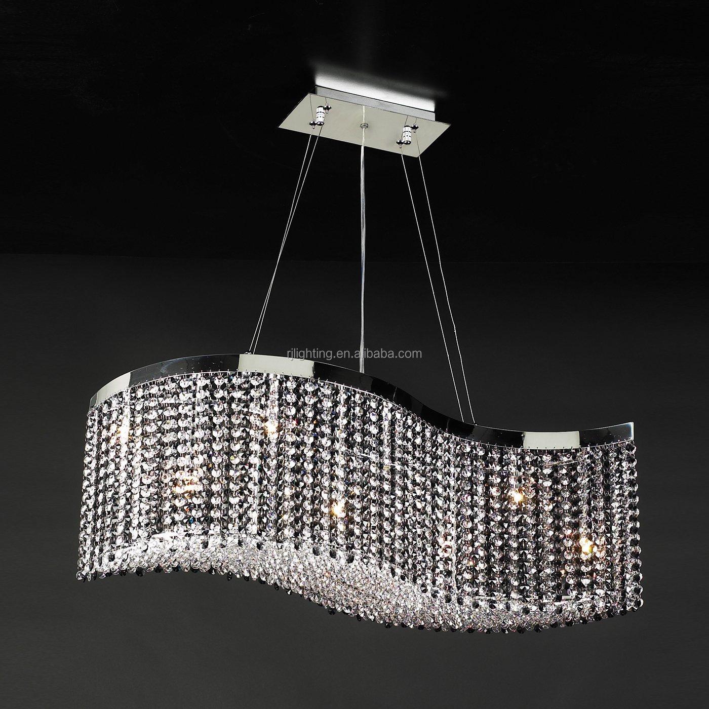K9 Crystal Light Fixtures Dining Room Pendant Light Crystal Chain Led Modern S Shape Wave Lamp Buy Wave Lamp Crystal Modern Pendant Lamp Light Fixture Product On Alibaba Com