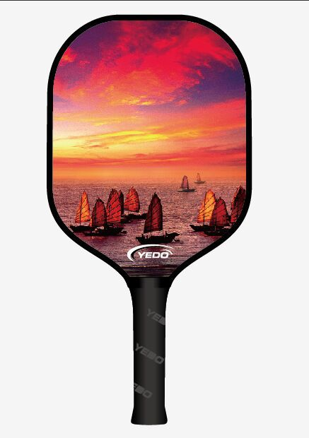 Pickleball Paddle Pickleball Composite Honeycomb With Rubber Edge ...