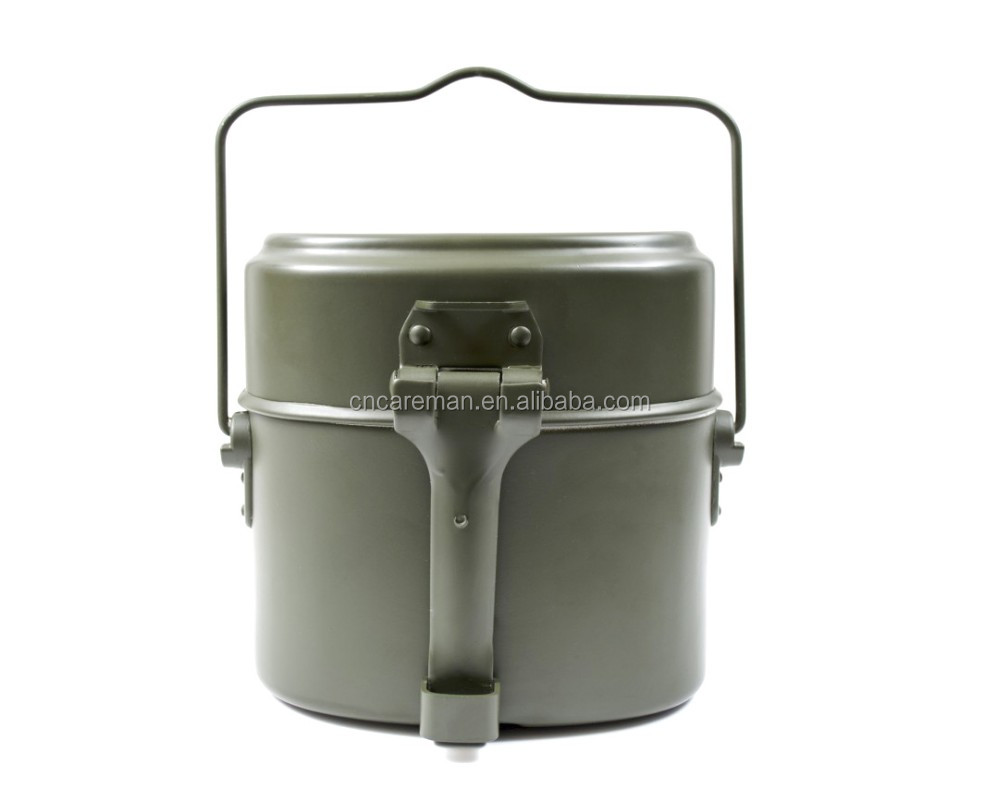 German Style Military 3-piece Mess Kit,Aluminum Outdoor Camping Mess Tin  Set Oem Orders Accepted - Buy German Mess Kit,German Mess Tin,German Lunch